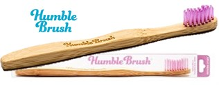 Tannbørste Bambus, M - Humble Brush